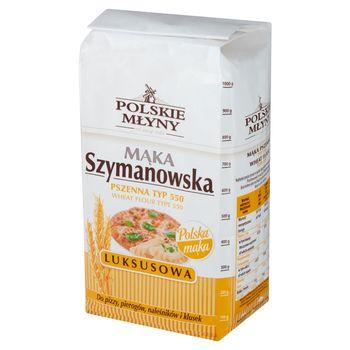 Polskie Młyny Mąka Szymanowska Luksusowa pszenna typ 550 1 kg