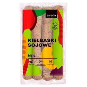 Polsoja Kiełbaski sojowe białe 250 g