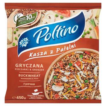 Poltino Kasza z patelni gryczana pieczarki & groszek 450 g