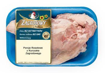 Porcje rosołowe z Kurczaka Zagrodowego tacka