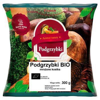 Złote Runo Premium Podgrzybki bio mrożone kostka 300 g