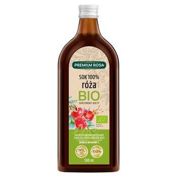 Premium Rosa Bio Suplement diety sok 100% róża 500 ml