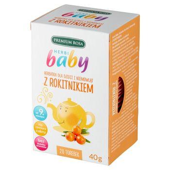 Premium Rosa Herbi Baby Herbatka z rokitnikiem 40 g (20 x 2 g)