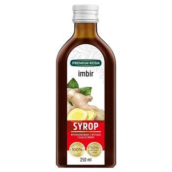 Premium Rosa Syrop imbir 250 ml