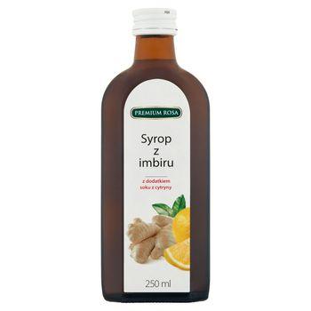 Premium Rosa Syrop z imbiru 250 ml
