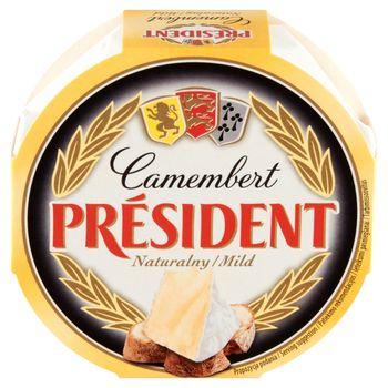 Président Ser Camembert naturalny 120 g