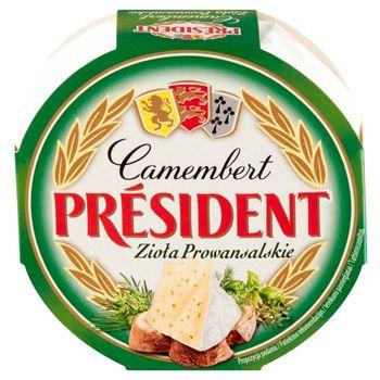 Président Ser Camembert zioła prowansalskie 120 g
