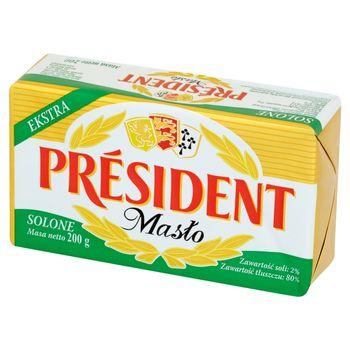 Président Masło ekstra solone 200 g