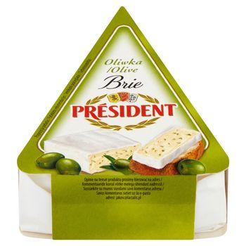 Président Ser Brie oliwka 125 g