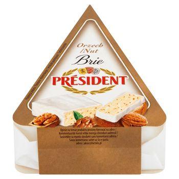 Président Ser Brie orzech 125 g