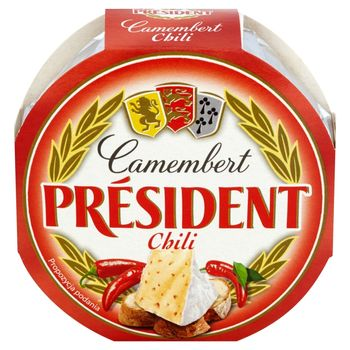 Président Ser Camembert chili 120 g