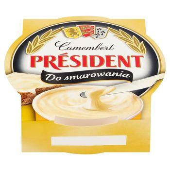 Président Ser topiony Camembert do smarowania 120 g