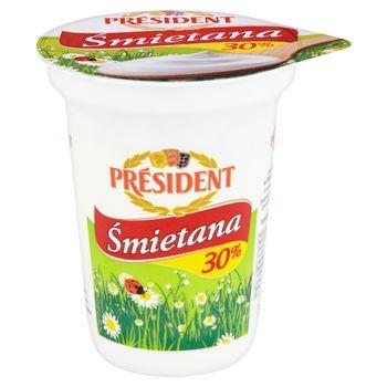 Président Śmietana 30% 350 g