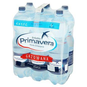 Primavera Woda źródlana gazowana 6 x 1,5 l