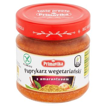 Primavika Paprykarz wegetariański z amarantusem 160 g