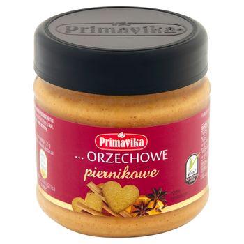 Primavika Pasta z prażonych orzeszków arachidowych z przyprawami piernikowymi 185 g