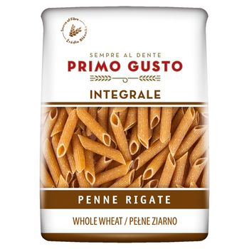 Primo Gusto Integrale Makaron pełnoziarnisty rurka skośna 500 g