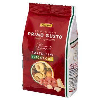 Primo Gusto Tortellini trzykolorowe z szynką prosciutto 250 g