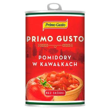 Primo Gusto Pomidory w kawałkach bez skórki 400 g