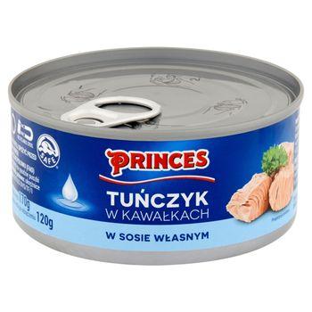 Princes Tuńczyk w kawałkach w sosie własnym 170 g