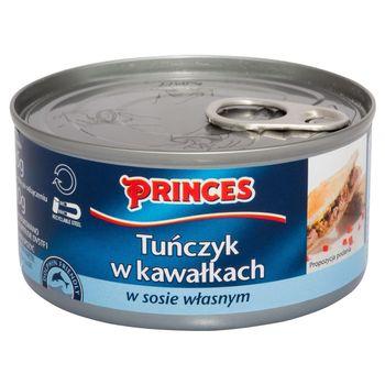 Princes Tuńczyk w kawałkach w sosie własnym 185 g