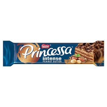 Princessa Intense Peanut Butter Wafel z kremem arachidowym oblany czekoladą mleczną 31 g
