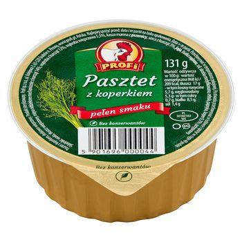 Profi Pasztet z koperkiem 131 g