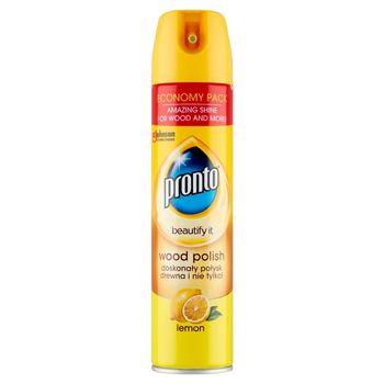 Pronto Lemon Aerozol do mebli drewnianych 300 ml