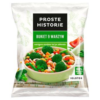 Proste Historie Bukiet 9 warzyw 450 g