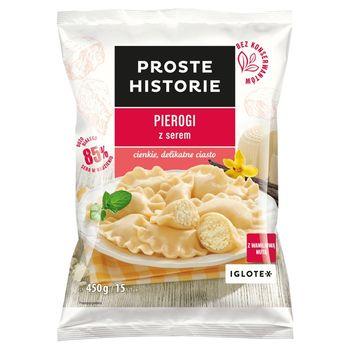 Proste Historie Pierogi z serem 450 g (15 sztuk)