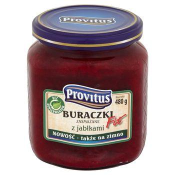 Provitus Fit Buraczki zasmażane z jabłkami 480 g