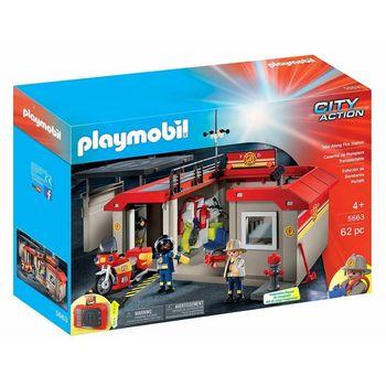 Playmobil Przenośna remiza strażacka 5663