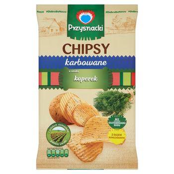 Przysnacki Chipsy karbowane o smaku koperek 135 g
