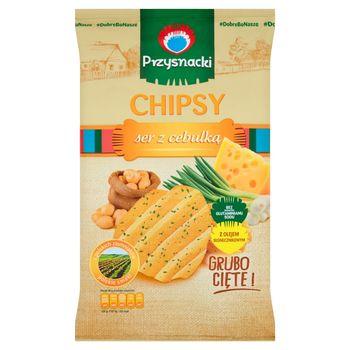 Przysnacki Chipsy ser z cebulką 135 g