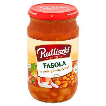 Pudliszki Fasola w sosie pomidorowym 620 g