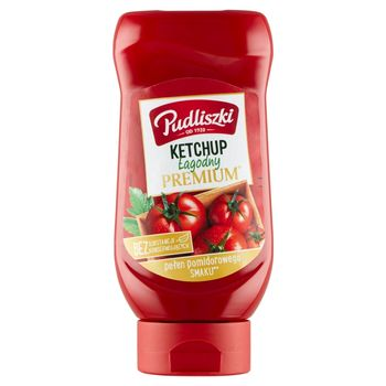Pudliszki Ketchup łagodny premium 470 g