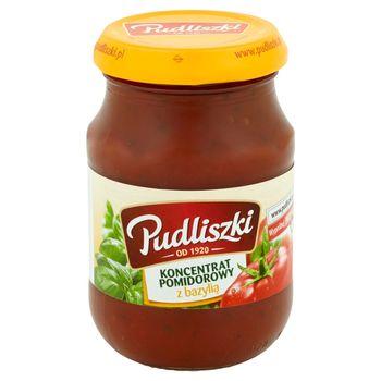 Pudliszki Koncentrat pomidorowy z bazylią 200 g