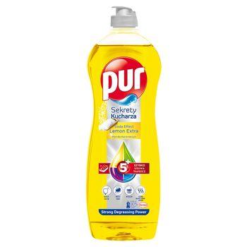 Pur Sekrety Kucharza Lemon Extra Płyn do mycia naczyń 750 ml