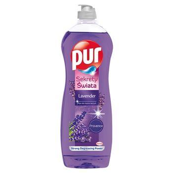 Pur Sekrety Świata Lavender Płyn do mycia naczyń 750 ml