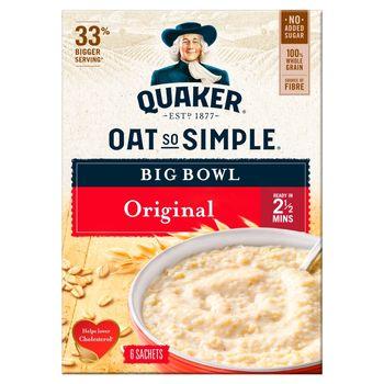 Quaker Oat So Simple Płatki owsiane 231 g (6 x 38,5 g)