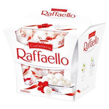 Raffaello Chrupiący wafelek z kokosem i całym migdałem w środku 150 g