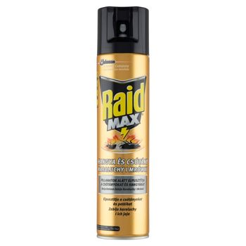 Raid Max Aerozol przeciw karaluchom i mrówkom 400 ml