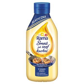 Rama Smaż jak szef kuchni klasyczna Z mixem olejów 750 ml