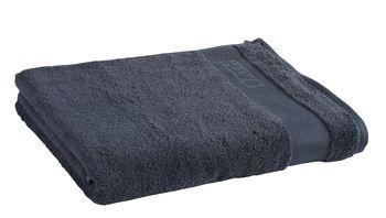 Ręcznik Tex Bath Bawełna Gładki Ciemnoszary 100x150