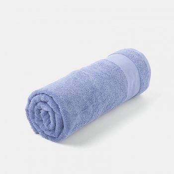 Ręcznik Tex Bath Bawełna Gładki Jasny Niebieski 70x140