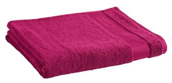 Ręcznik Tex Bath Bawełna Gładki Purpurowy 100x150