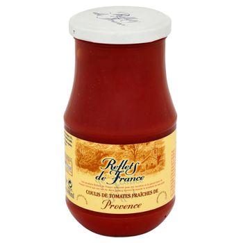 Reflets de France Mus ze świeżych pomidorów z Prowansji z oliwą z oliwek i aromatem bazylii 430 g