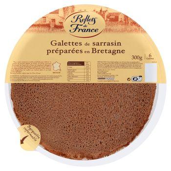 Reflets de France Naleśniki gryczane 300 g (6 sztuk)