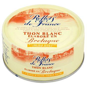 Reflets de France Tuńczyk biały z Bretanii w oliwie z oliwek extra vergine 160 g