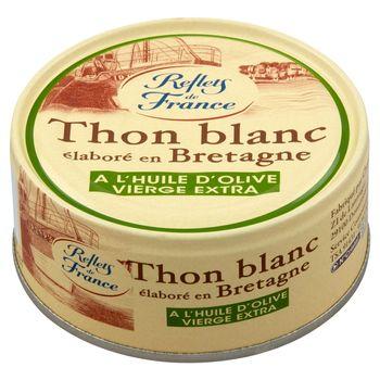 Reflets de France Tuńczyk albakora w oliwie z oliwek 160 g